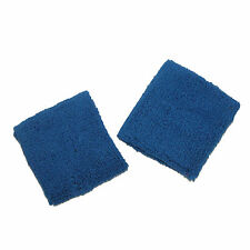 New CTM Cotton Terry Cloth Sport Wrist Sweatband