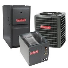 1.5 Ton 15 SEER 96% AFUE 2 Stage Gas Furnace Air Conditioner System Upflow TXV