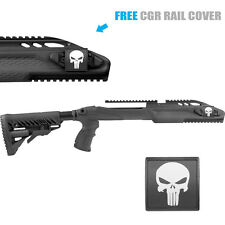 FAB Defense FIXED Stock Kit for RUGER 10/22 w/ Aluminum Rail - R10/22 PRO PNSH