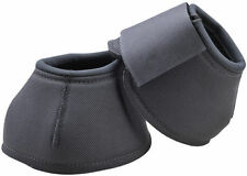 HKM Tough Solid High Protection Bell Boots Over Reach Boots Neoprene Lining