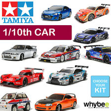 NEW TAMIYA 1/10th RADIO CONTROL CAR R/C BUILD YOURSELF KIT - ALL CARS AVAILABLE!