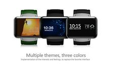 """2.2"""" Bluetooth Wifi 3G Dual Core Android 4.4 Smart Watch Camera GPS SMS SIM Card"""