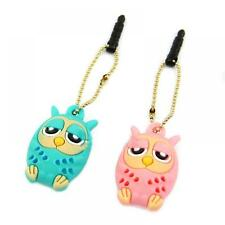 Stopper 3.5mm Dustproof Dust Plug Phone Owl for IPhone Samsung Tablet MP3/MP4