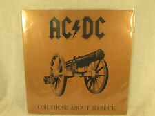 AC/DC ~ FOR THOSE ABOUT TO ROCK WE SALUTE YOU ** 1981 ATLANTIC LP
