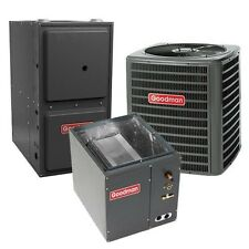 2.5 Ton 13 SEER 92% AFUE Gas Furnace, Air Conditioner Condenser System, Downflow