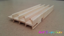 Canvas Stretcher Bars, Canvas Frames, Scots Pine Wood 38mm, Pack of 30