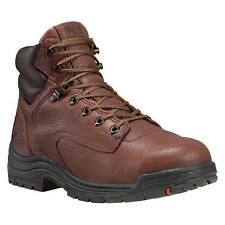 Timberland Pro TITAN 6 INCH Mens Brown Leather 26063 Up Steel Toe Work Boots