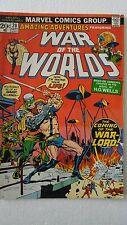 Amazing Adventures #20 feat. War of the Worlds (Sep 1973/Marvel) Est. grade: 7.0