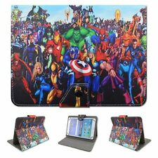 "Universal 7"" inch ANDROID TABLET CASE FOR SAMSUNG  PENDO LENOVO Super Heros"
