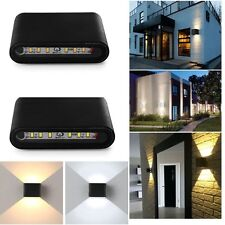6W 12W 5730 SMD LED Wall Light Up Down Indoor Outdoor IP65 Sconce Lamp Lighting
