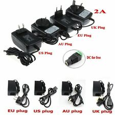 AC/100-240V to DC/12V Power Supply Charger Adapter 2A 5A 6A 8A 10A for Led Strip
