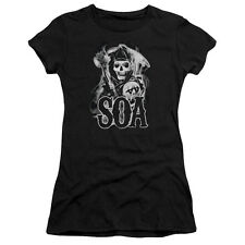 "Sons Of Anarchy ""Smoky Reaper"" Women's Adult & Junior Tee or Tank"