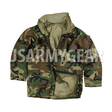 US Army Cold Wet Weather Gen 2 II  ECWCS Woodland Goretex Parka Jacket S M L XL