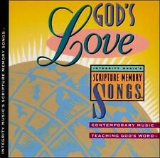 God's Love Integrity Music's Scripture Memory Songs CD Contemporary Music