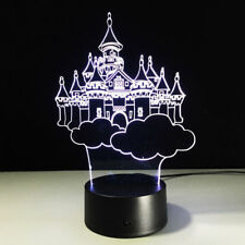 New 3D Night Light MANCHESTER UNITED Football Club 7 Color Change LED Table Lamp