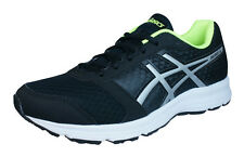 Asics Patriot 8 Mens Running Trainers / Shoes - Black
