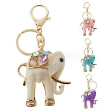 Resin Elephant Keyring Keychain Charm Pendant Purse Bag Car Key Chain Gift Accs