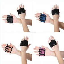 Sports Weight Lifting Fitness Grips Training Gym Straps Gloves Wrist Support Bar