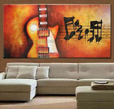 beautiful modern ABSTRACT LARGE music art 100% hand-painted oil painting canvas