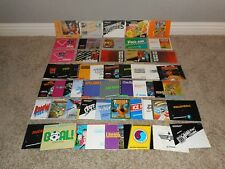 48 Nintendo Instruction Booklets/Manuals for NES Games! Lot