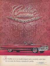 1961 Cadillac: Soundly Designed and So Carefully Crafted Print Ad (21545)