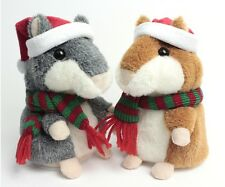 Cute Lovely Funny Kids Gifts Sound Record Mimicry Pet Talking Hamster Plush Toys