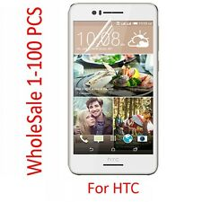High Quality HD PET Soft Clear Screen Protector Film For HTC Cell Phone LOT