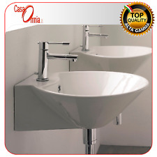 """LAY-ON OR WALL-MOUNTED WASHBASIN - THIN LINE """"CONO"""" - SCARABEO"""