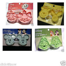 Disney Mickey Pooh Marie Cookie cutter Mold Cookies Stamp mould cutters set home