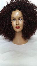 CURLY FREESTYLE BOHEMIAN CURLS HUMAN HAIR  LACE OR (DOME CAP) WIG