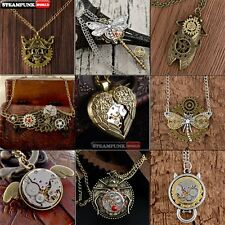 Vintage Steampunk Necklace Chain Choker Retro Collar Gothic New Handmade Pendant