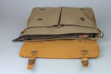 Retro Designer Mens Genuine Leather Satchel School Work Travel Laptop Bag