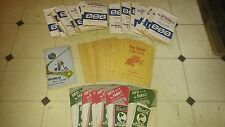 VINTAGE MIXED LOT OF 43 GREEN STAMP SAVOR BOOKS & STAMPS, TRIPPLE-S & TOP VALUE