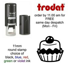 Cup Cake Loyalty Card Rubber Stamp Self Inking cafe bar coffee shop restaurant