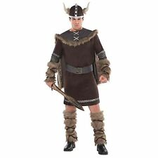 Book Week Adult Viking Fancy Dress Costume Medieval Saxon Halloween Warrior Men