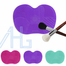 Makeup Brush Cleaner Silicone Pad Cleaning Cosmetic Scrubber Board Mat Tool