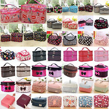 High Womens Multifunction Travel Cosmetic Bag Makeup Holder Cases Pouch Toiletry