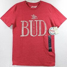 NWT Lucky Brand Budweiser Bud King Of Beers Haute Red T-Shirt Choose Size