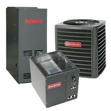 3.5 Ton 13 SEER 80% AFUE 100,000 BTU Gas Furnace AirConditioner System, Downflow