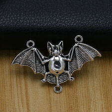 NEW 20/50ps Tibet Silver Alloy bat Charms Connector pendant beaded Jewelry
