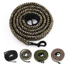 Survival Paracord Rifle Gun Sling Hunting Shooting Strap Belt with Swivel 360°