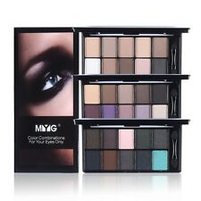 10 Colors Matte Eyeshadow Palette With Brush Shimmer Beauty Cosmetis Makeup Set