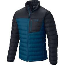 MOUNTAIN HARDWEAR Mens XL Dynotherm Down Jacket Phoenix Blue/Hardwear Navy