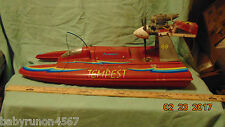 """GAS Powered R/C BOAT 30"""" Long """"FOR PARTS OR REPAIR"""""""