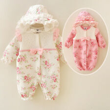 Newborn Baby Girl Clothes Infant Princess Jumpsuit Cotton Baby Romper Set