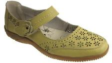DR LIGHFOOT LEATHER CASUAL COMFORT MARY JANE FLAT SHOES SANDALS PISTACHIO SIZE 3