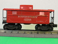 Lionel No. 2472 Poswar PRR N-5 Red Caboose #477618 Tin Type Illuminated