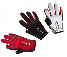 Musto Sailing Gloves Essential Sailing Gloves - 2 Finger free in 3 colours