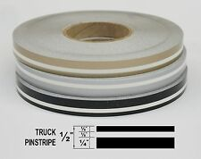 "Half Inch Wide Truck PinStripe 1/2"" x 150' Roll of Accent Pinstripe Stripe"
