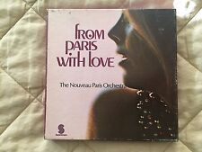 From Paris with Love Nouveau Paris Orchestra & Blank Reel to Reel Tape